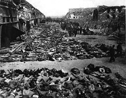 cadáveres holocausto