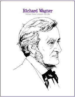 wagner-coloring-page