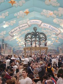 festa de la cervesa a Munich (Oktoberfest)