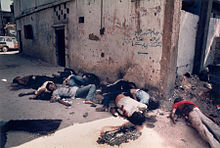 Massacre_of_palestinians_in_shatila i Sabra (Líban)