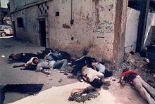 Massacre_of_palestinians_in_shatila i Sabra (Líban)