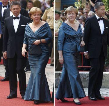 Angela Merkel a Bayreuth'2008