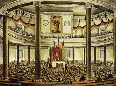 Assemblea Nacional a Francfort, 1848.