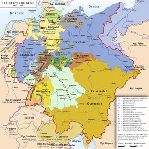 Estats de la Confederació Germànica.