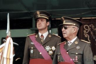 JUAN CARLOS I i FRANCISCO FRANCO