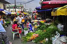 Mercado de las flores, Manila.