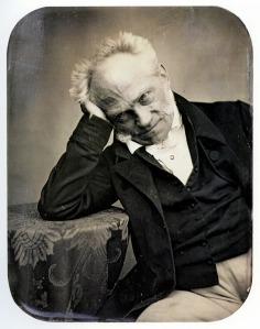 Porträt des Philosphen Arthur Schopenhauer, 1852