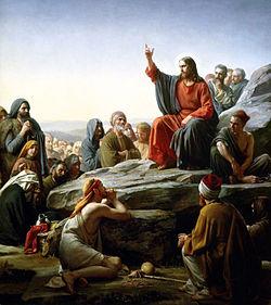 jesus- sermom montaña