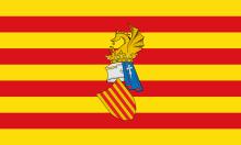 Bandera del Consell Preautonòmic del País Valencià.