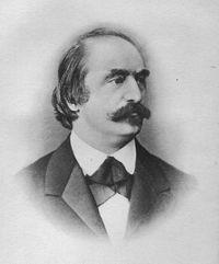 Hanslick m. Hanslick, el enemigo de Wagner.
