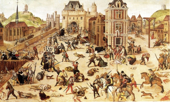 La massacre del dia de Sant Bartolomé. Francois_Dubois_001