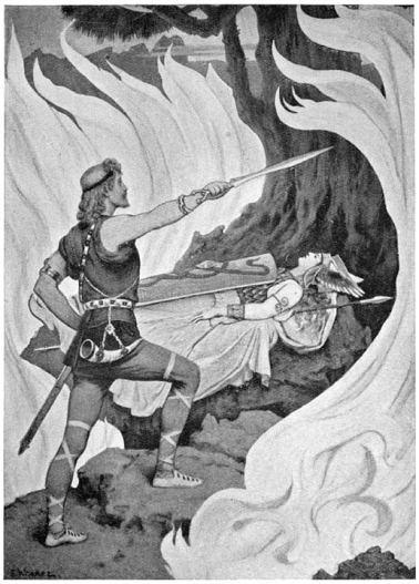 Sigurd finds Brunhild