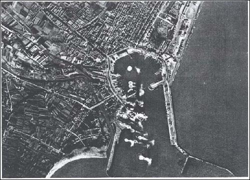bombardeig port