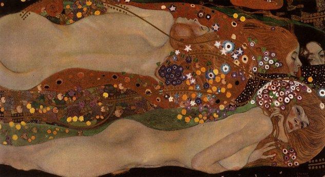 Gustav_Klimt-Watersnakes_II_