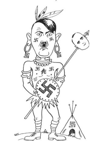 hitler-caricatura-capitan-swing