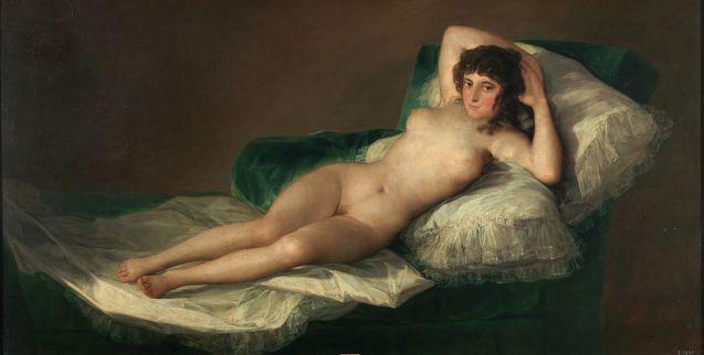 La maja_desnuda. Goya.