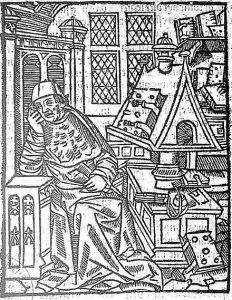 Chrétien_de_Troyes,  autor de Perceval o el cuento del Grial.