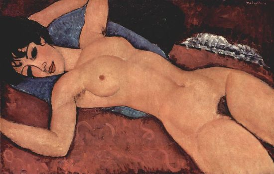 Desnudo acostado. Amedeo_Modigliani_012