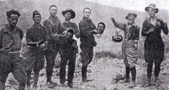 españolas cabezas cortada rifeños 1922