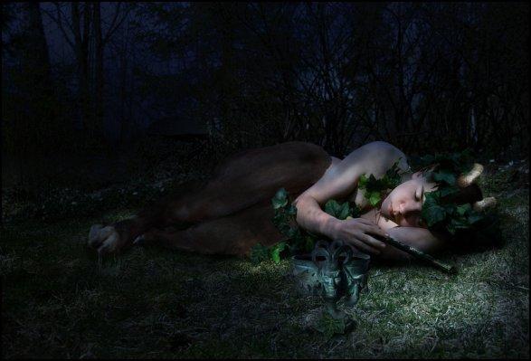 fauno sleeping_faun_by_sgorbissa-d4jgmr8