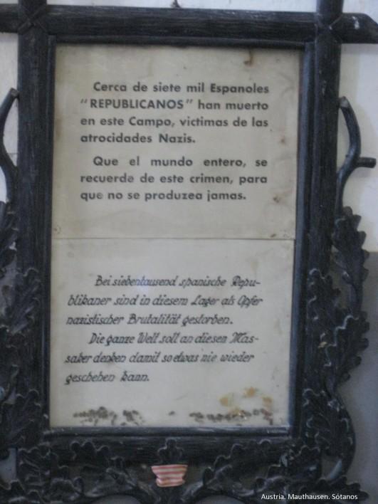 mathausen placa