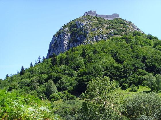 Montsegur_(1) castell