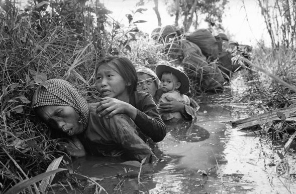 vietnam-war- en un charco