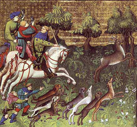 caza medieval