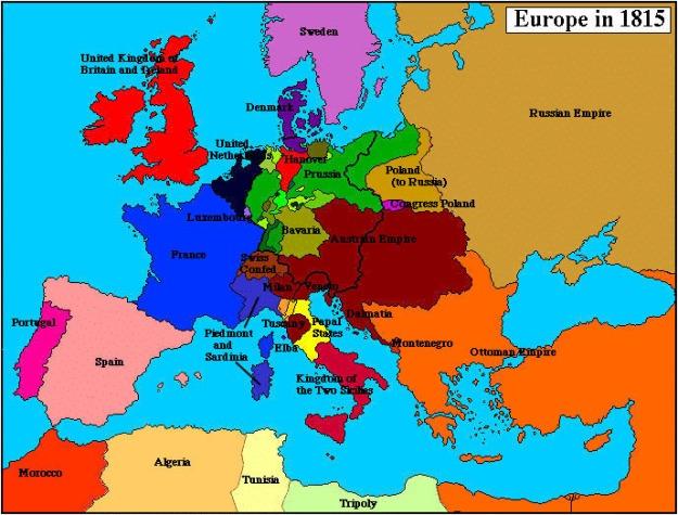 europa 1815 y