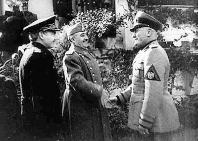 Franco Mussolini y Serrano Suñer