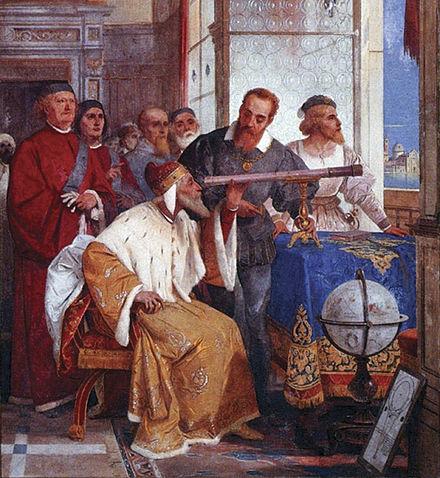 Galileo_Galilei_and_Doge_of_Venice-telescopio dux venecia