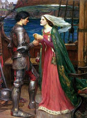 Tristán e Isolda con el veneno, John William Waterhouse