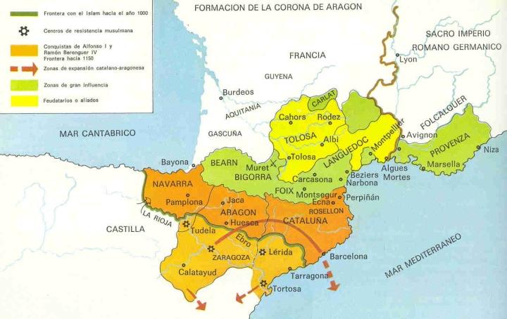 Resultado de imagen de corona d'arago occitania
