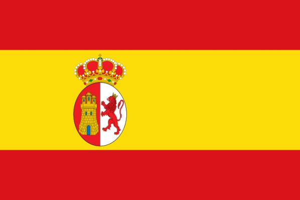 Bandera Carlos iii 1785 mariba