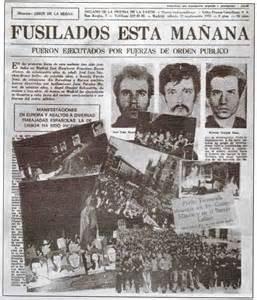 fusilados 1975