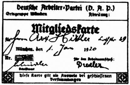 Hitler's_DAP_membership_card