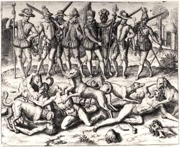 masacre indios