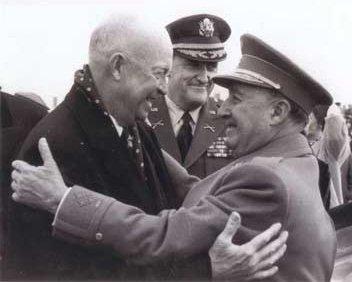 Eisenhower y Franco en 1959