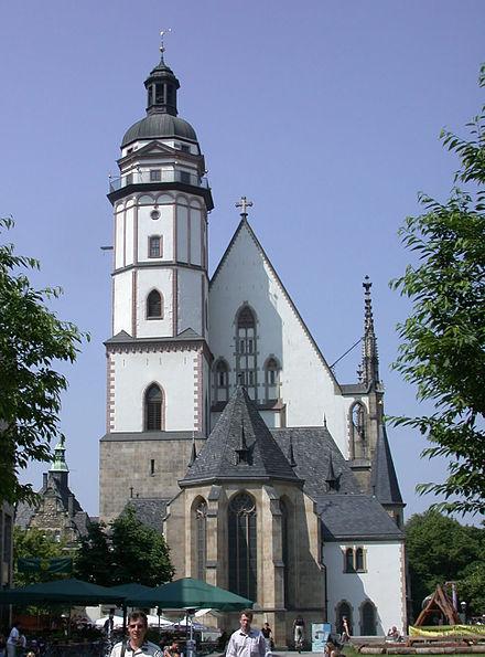 Església Wagner--Leipzig_Thomaskirche
