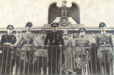 Serrano Súñer con Himmler en Berlín