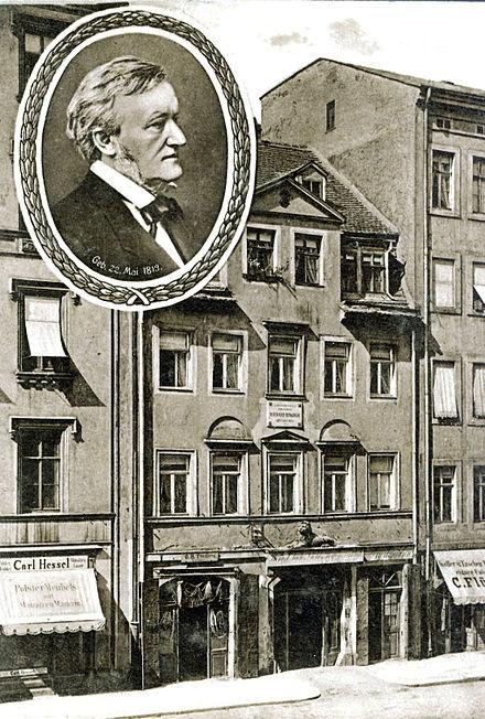 Wagner_Geburtshaus-Casa on va néixer Richard Wagner a Brühl (Leipzig)