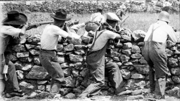 milicians combaten aragó