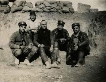 milicianos del poum frente oscs