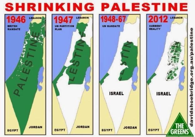 mapa de palestina que invaden judios israel