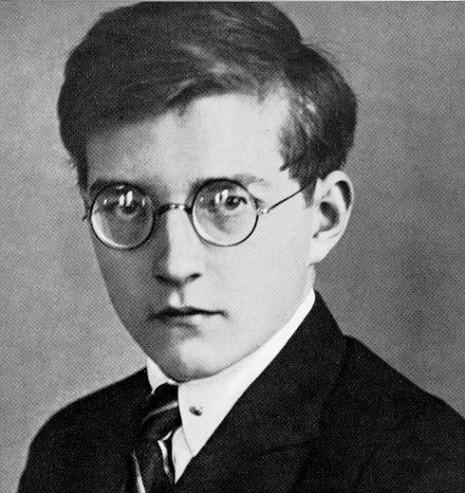 Dmitri Shostakovich in 1935 - Sostakovic