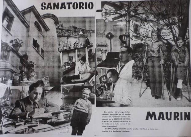 sanatorio maurin 1937
