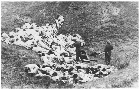 Nazis Ukraine genocide