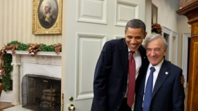 8. obama-elie weisel