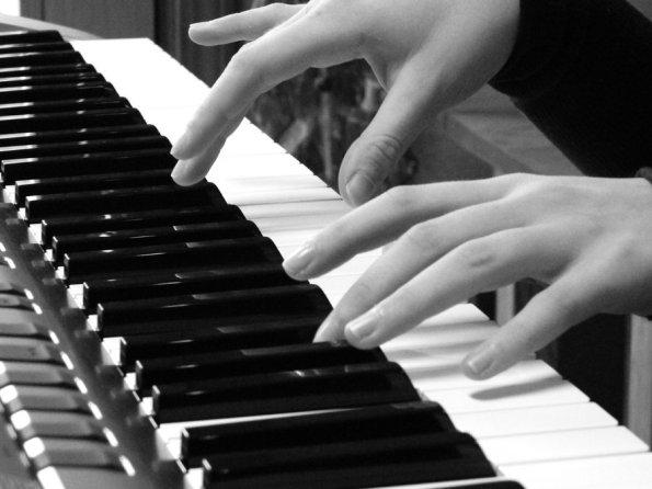 The man at the piano
