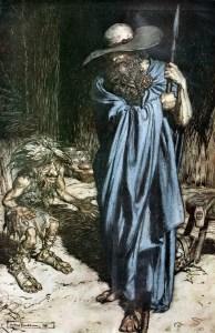 Wotan Wanderer Arthur Rackham